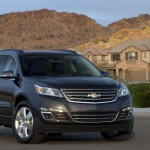 Chevrolet Traverse facelift 2012 01