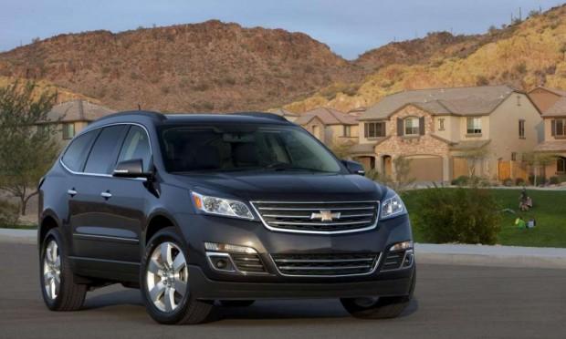 Chevrolet Traverse 2012, actualización