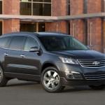 Chevrolet Traverse facelift 2012 09