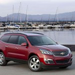 Chevrolet Traverse facelift 2012 10