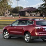 Chevrolet Traverse facelift 2012 11