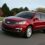 Chevrolet Traverse facelift 2012 12