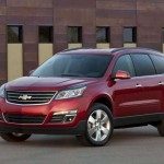 Chevrolet Traverse facelift 2012 13