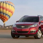 Chevrolet Traverse facelift 2012 14