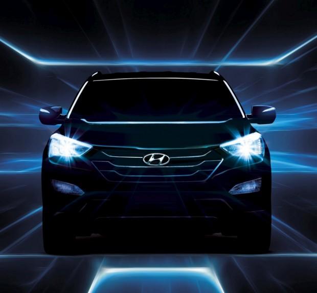 Hyundai Santa Fe 2013, más fotos oficiales