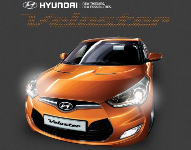 Hyundai Veloster primer auto de Argentina configurado en Internet por futuros usuarios