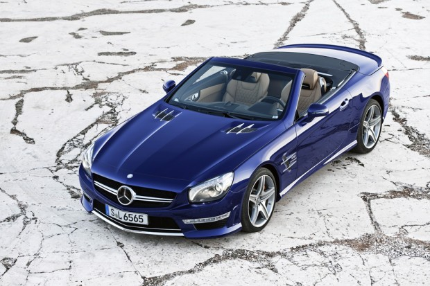 Mercedes-Benz SL-Class, SL 65 AMG V12 Bi Turbo Roadster