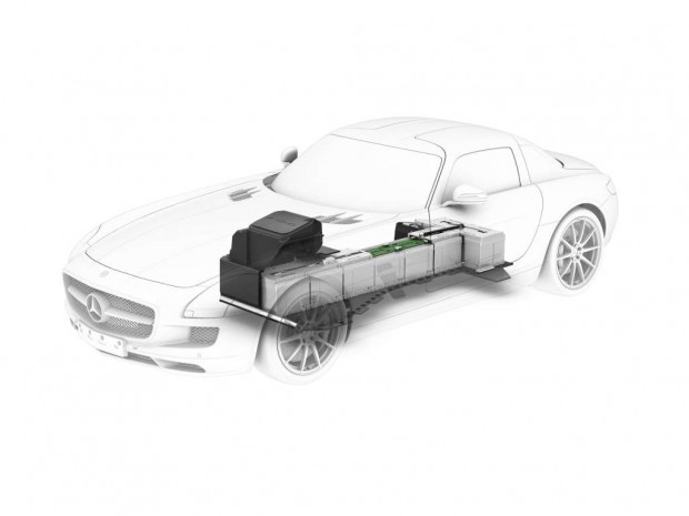 Mercedes Benz SLS AMG E-CELL de propulsión eléctrica