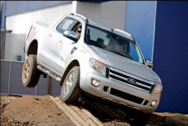La nueva Ford Ranger muestra su capacidad off road