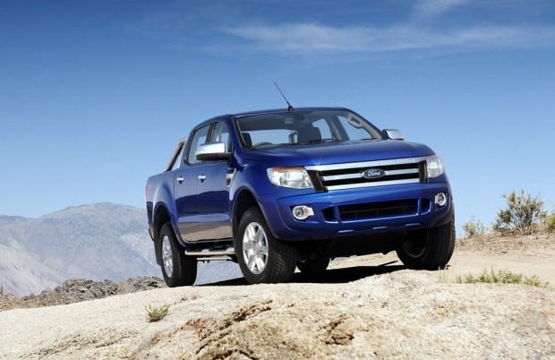 Nueva Ford Ranger 2012, pruebas de exigencia en video