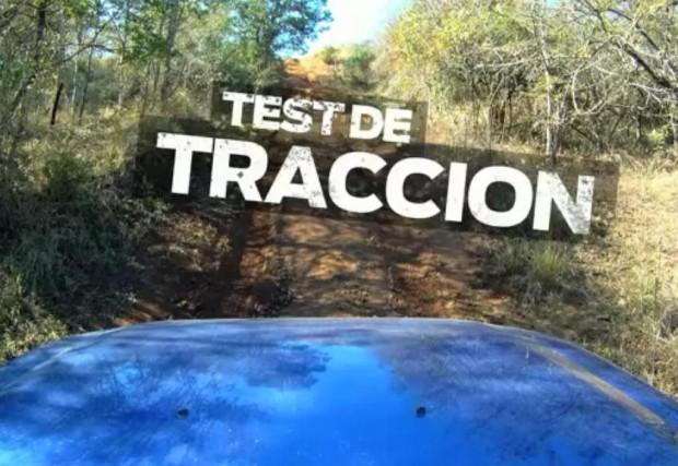 Nueva Ford Ranger 2012, test de tracción