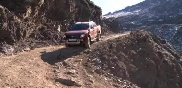 Video: Nueva Ford Ranger, Control de descenso de pendientes