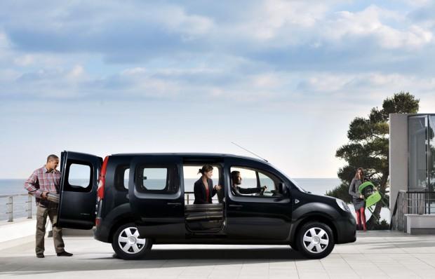 Renault Grand Kangoo  con mayor espacio y habitabilidad