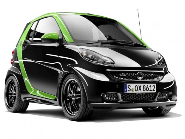 Smart Brabus Electric Drive 2012