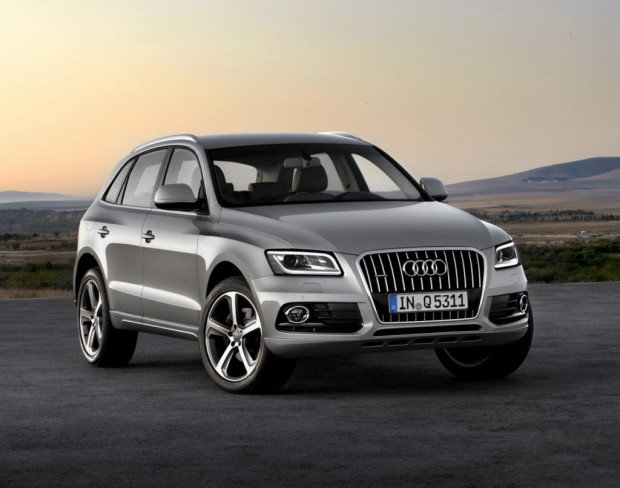 Audi Q5 restyling 2012