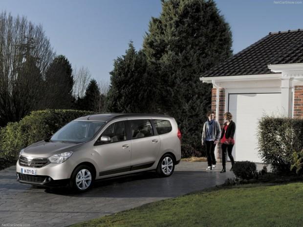 Dacia Lodgy un SUV de 7 asientos con un precio muy conveniente