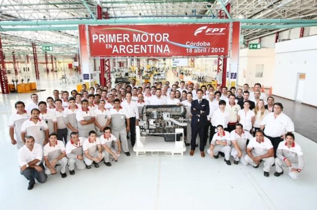 FPT Industrial testea la línea de producción en  su planta de Ferreyra Córdoba