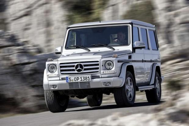 Mercedes-Benz G65 AMG equipado con el motor V12 BiTurbo  de 603 HP