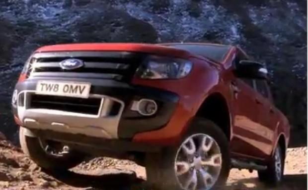 Nueva Ford Ranger 2012, Trepada con torque