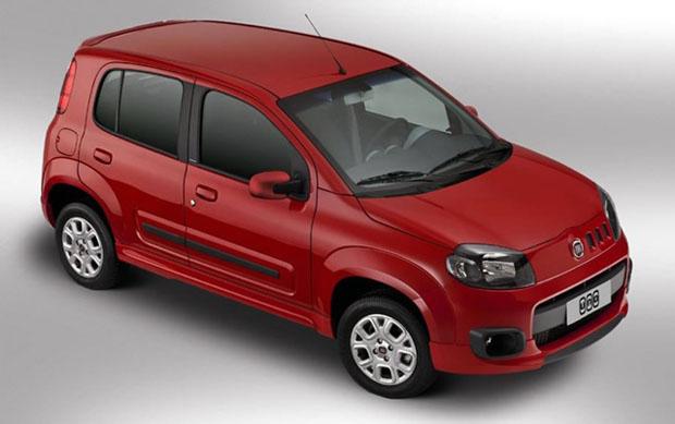 Nuevo Fiat Uno primero en ventas en Brasil