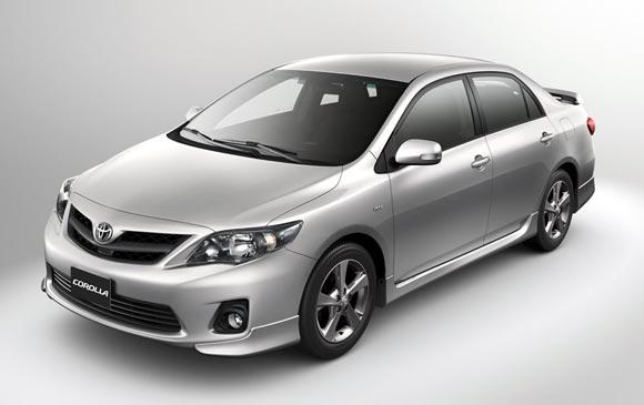 Toyota Corolla XRS, disponible en Argentina
