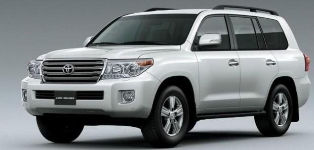 Toyota Land Cruiser 200 línea 2012