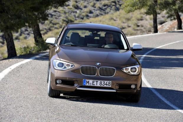 BMW Serie 1 con carrocería de tres puertas