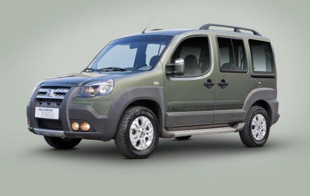 Fiat Doblo Adventure 2013 serie especial Xingu