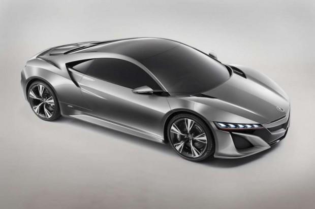 Honda NSX Concept imágenes y video