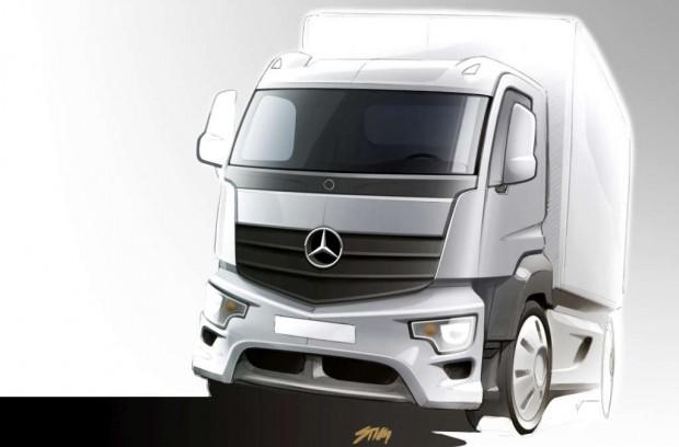 Mercedes Antos nueva familia de camiones