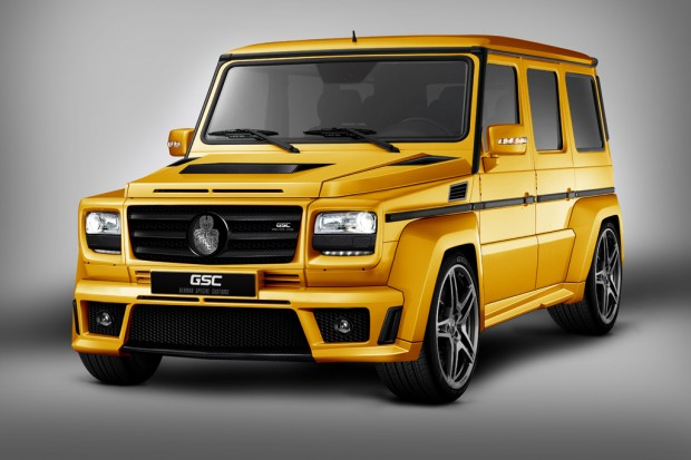Mercedes-Benz Clase G GoldStorm by GSC