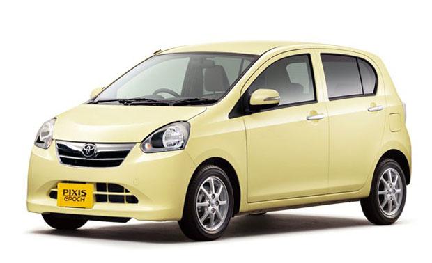Toyota  Pixis Epoch presentado en Japón