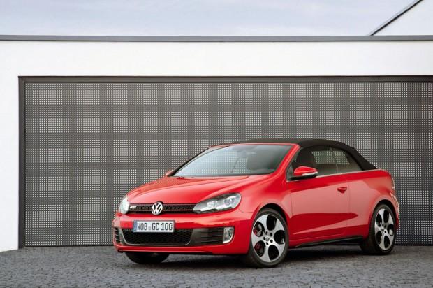 Volkswagen Golf GTI Cabriolet mas fotos oficiales