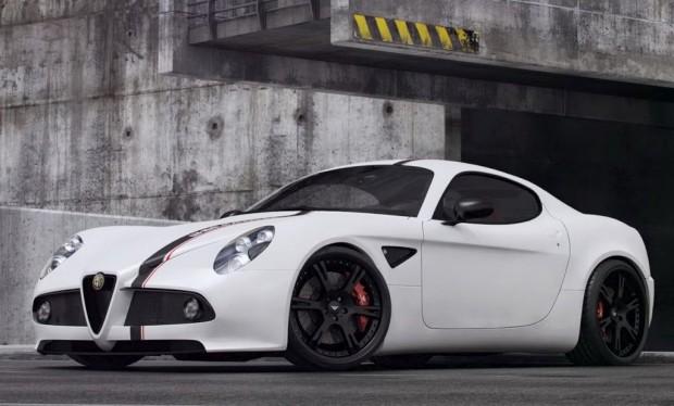 Alfa Romeo 8C Competizione por Wheelsandmore
