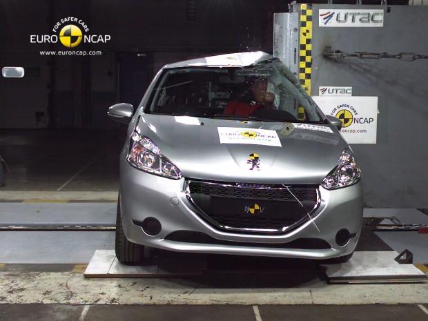 El Peugeot 208 obtiene las 5 estrellas en la EuroNcap