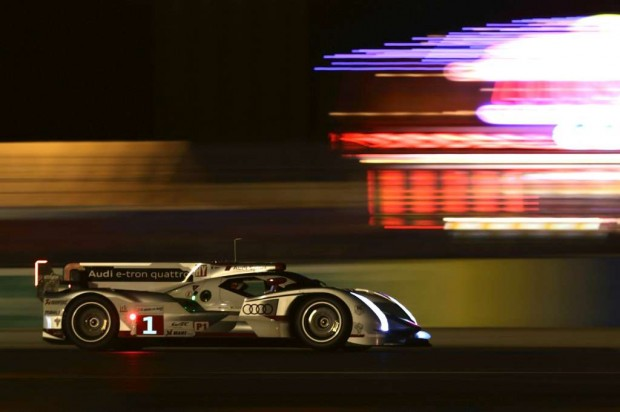 Audi, curiosidades  en Le Mans 2012
