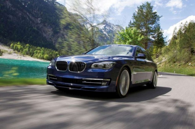BMW presentó su Alpina B7 facelift 2013