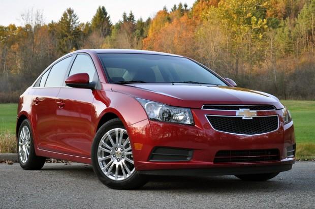 Chevrolet Cruze, llamado a revisión en USA
