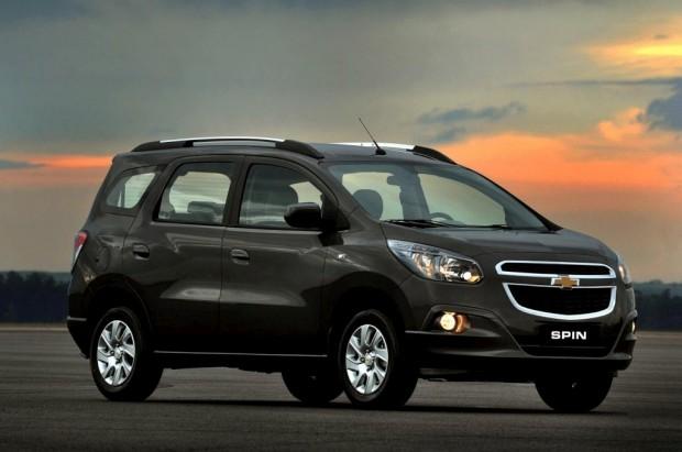 Nuevo Chevrolet Spin, presentación oficial en Brasil
