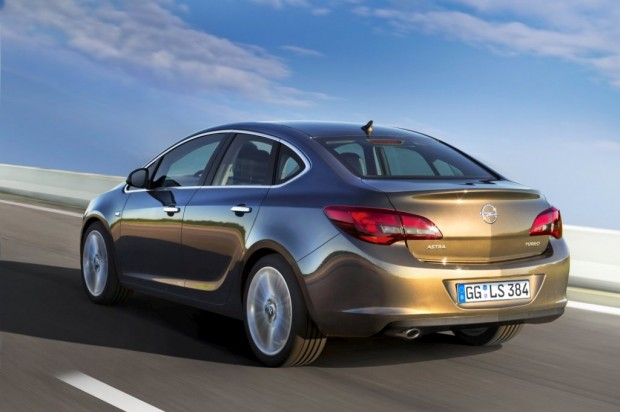 Nuevo Opel Astra Sedan