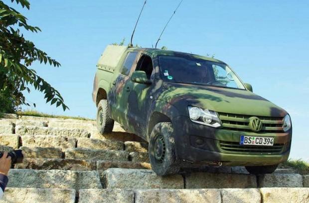 Volkswagen Amarok M para uso militar