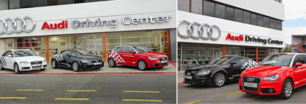 Nueva Fecha Audi driving experience en el Audi Driving Center