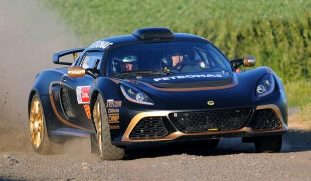 Lotus Exige R-GT homologado para el Campeonato Europeo de Rally