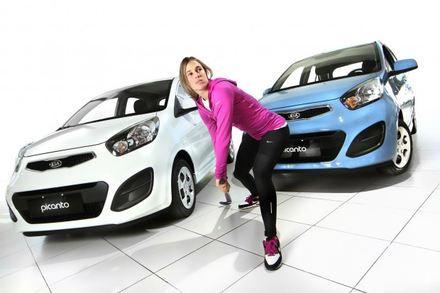 Nueva embajadora para el nuevo Kia Picanto