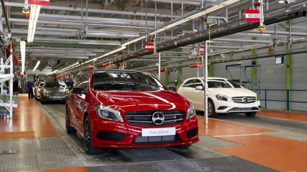 Mercedes Benz Clase A inició su producción en Alemania