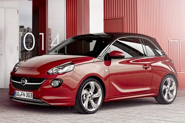 Opel Adam, imágenes oficiales