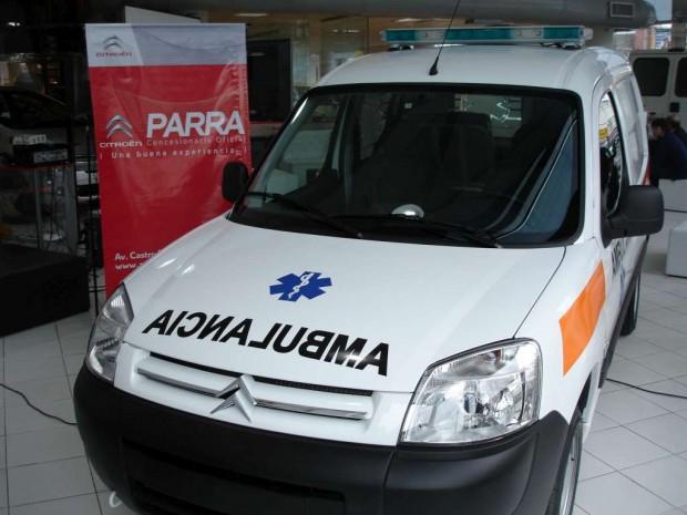 Un Concesionario Citroën de Córdoba transforma furgones en ambulancias