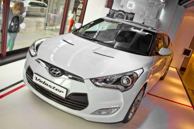 Hyundai Veloster en los Juegos Olímpicos