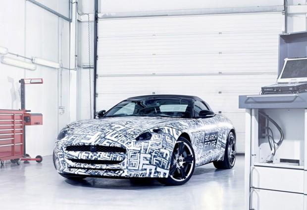 El Jaguar F-Type será presentado en el Salón de París