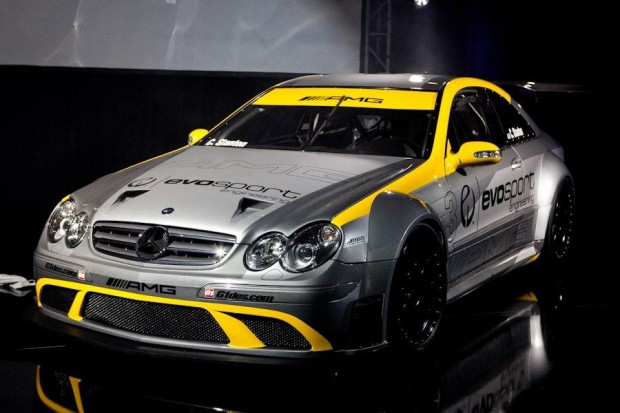 Mercedes Benz CLK 63 AMG Black Series race car by MBBS-Evosport